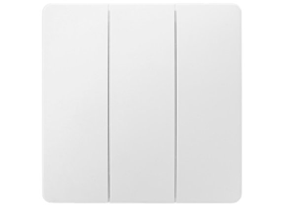 SMART KINETIC RF DIMMER SWITCH 3 GANG, WHITE