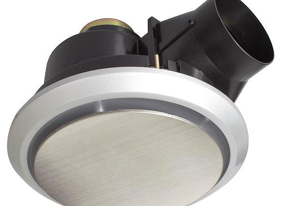 Brilliant Lighting Talon Large Exhaust Fan Stainless Steel 18190/16