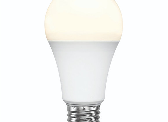 Brilliant Smart WiFi LED White Smart Light Bulb E27, 800-900 Lumens 9W Dimmable