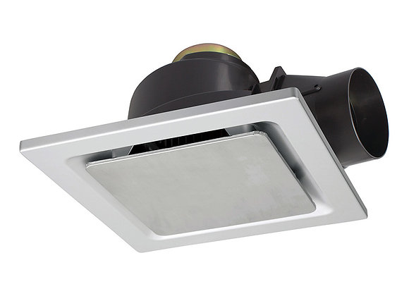 Brilliant Sarico-II Small Exhaust Fan Stainless Steel - 18193/16