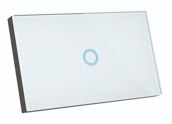 Brilliant Smart SMART WiFi ELITE GLASS WALL SWITCH 1 GANG