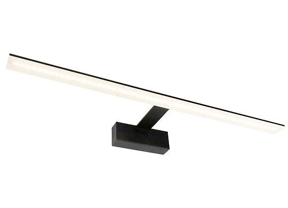 Babylon 12W LED Vanity Light Matt Black / Warm White - 20732/06