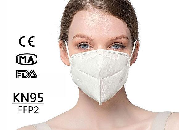 5 Pcs KN95 CE & FDA  FFP2/P2/N95/KN95