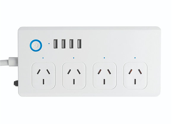 Brilliant Smart Smart WiFi Powerboard with USB Chargers