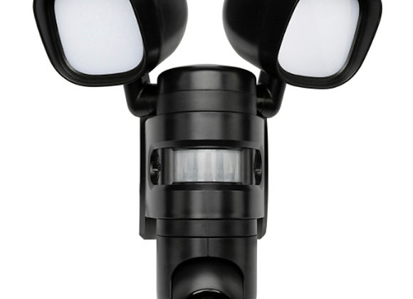 Brilliant Smart Wi-Fi FloodLight Motorize Pan/Tilt Camera 1080p NightVision 128G