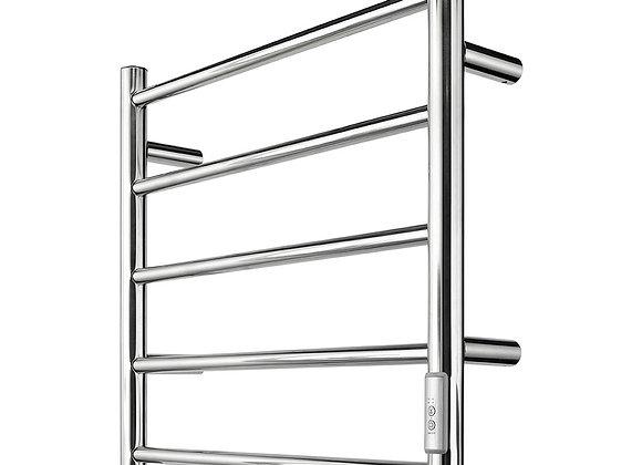 Brilliant Heated Towel Rail With DIY Wiring Chrome - 20796/16