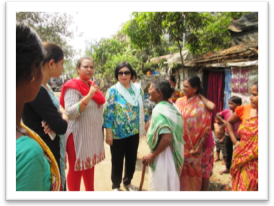 JAN SEVA CHP Awareness Programme For Diarrhoea: Follow Up Visit