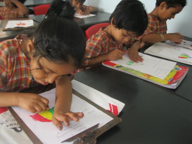 First Assessment of the Crèche Children at Jan Seva