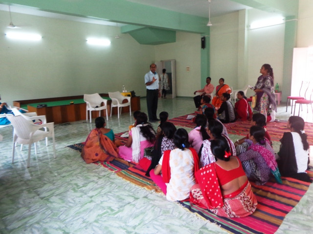 Workshop at Jan Seva on Facilities Provided for a Person with Disability
