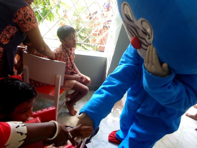 Children's Day at Jan Seva