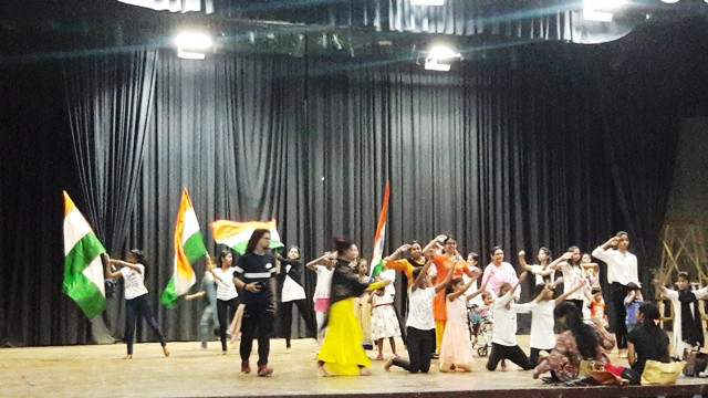 Our Children Performing at Hope Foundation Day