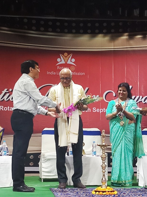 Jan Seva is given recognition at Nation Builder's Award Ceremony