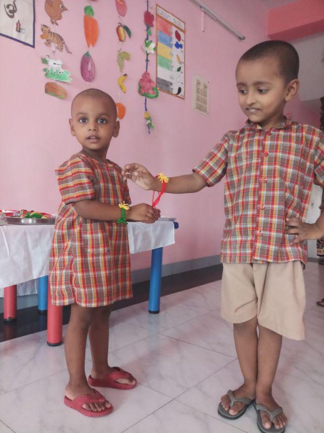 Raksha Bandhan Celebrations at Jan Seva