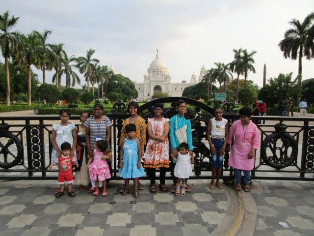 Children's Day Out to Victoria Memorial, Kolkata