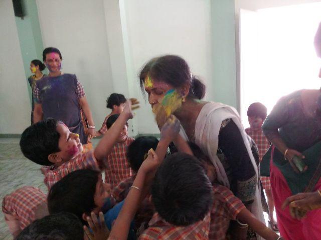 Holi Celebrations at Jan Seva
