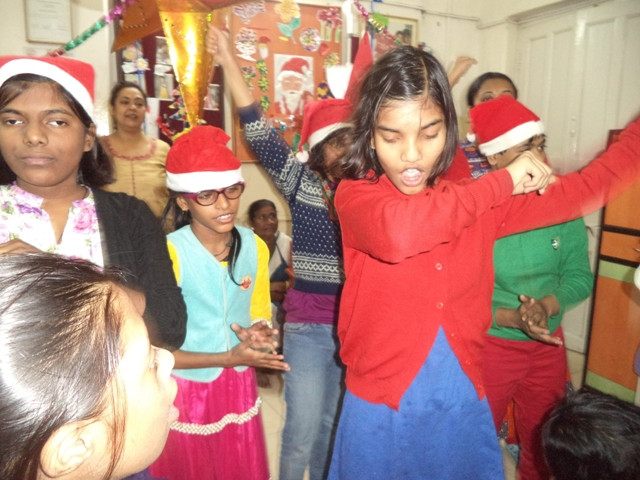 Christmas Celebrations at SICW by Children of Umeed