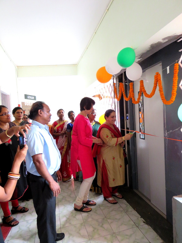 Inauguration of Lift at Jan Seva Building