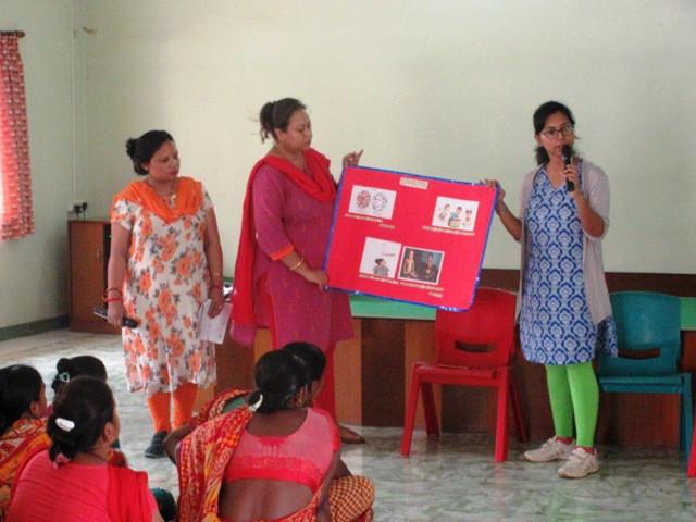 Awareness Programme On Worm Infestation Among Children
