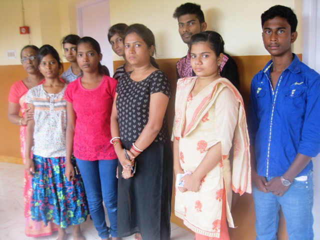 Our 10th Batch of Computer Literacy Program take the NIIT Exam