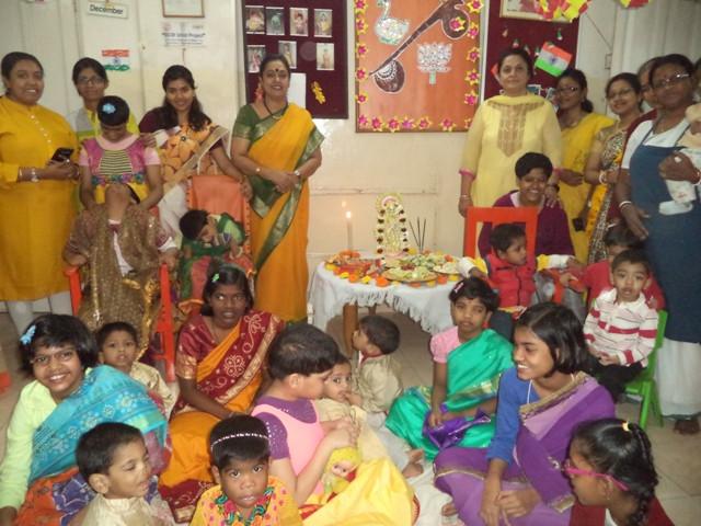 Saraswati Puja at Umeed