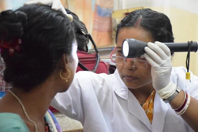 Eye Check-Up Camp by Hope Hospital