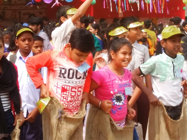 Our Children Participate at St. Xavier's Shishu Mela