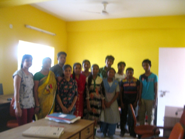 Our 9th Batch of Computer Literacy Program ready for the NIIT Exam