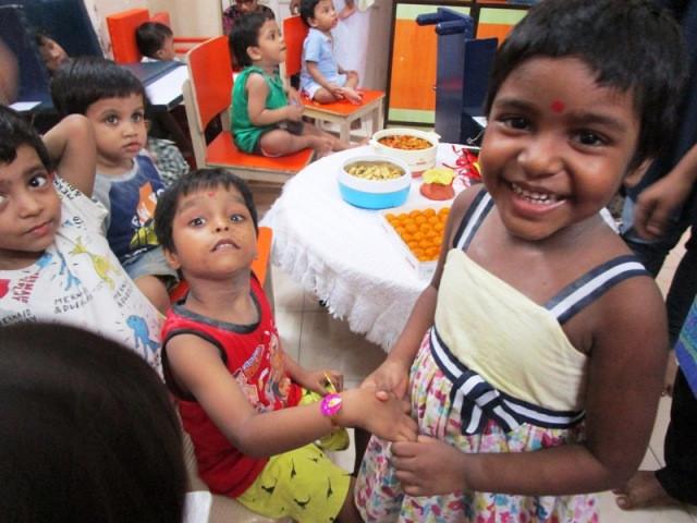 Children of Umeed celebrate Raksha Bandhan at SICW