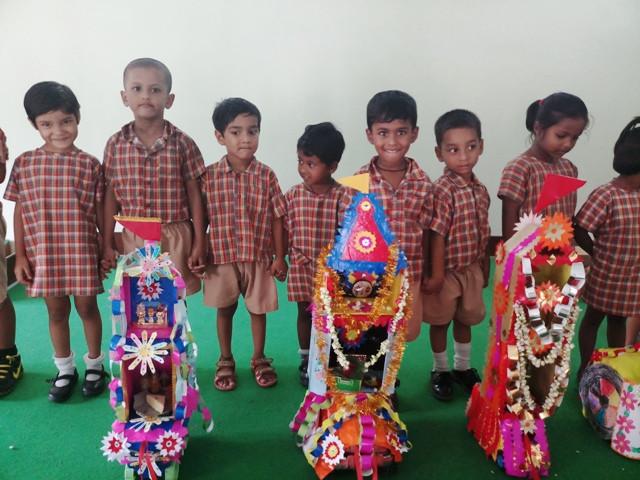 Rath Yatra at Jan Seva