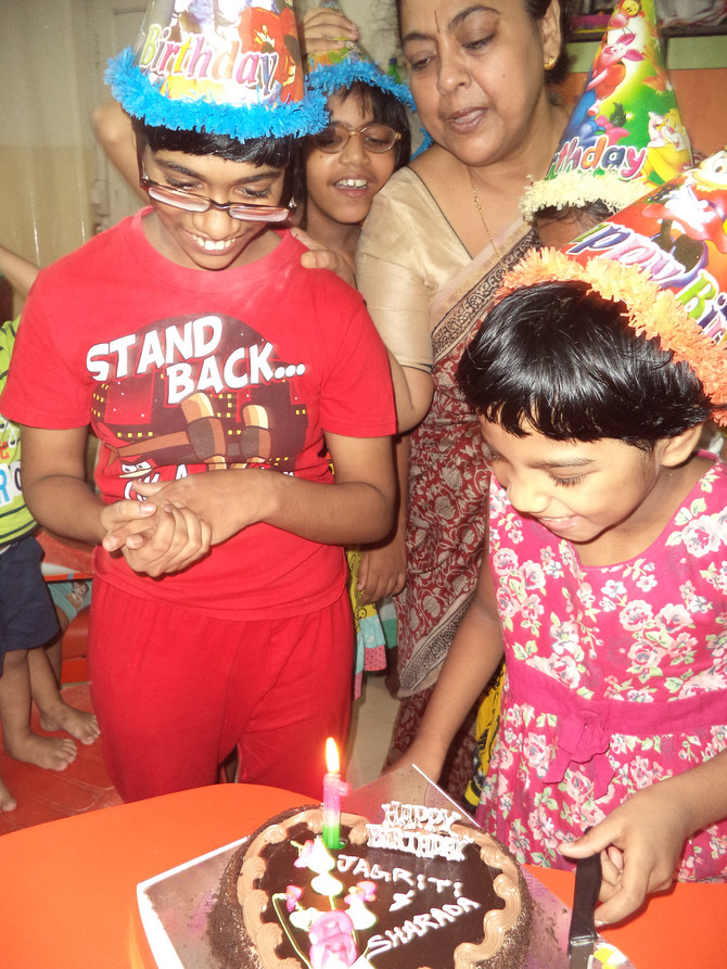 Birthdays in September: Sharada & Jagriti