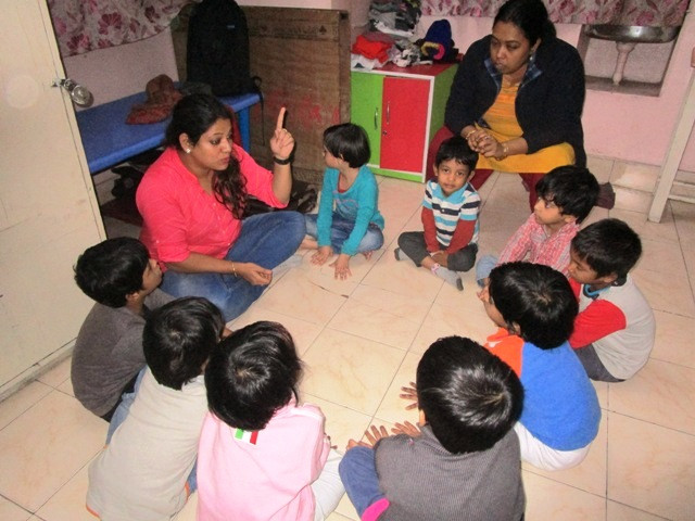 Counselling Session for Children on Predatory Behaviour