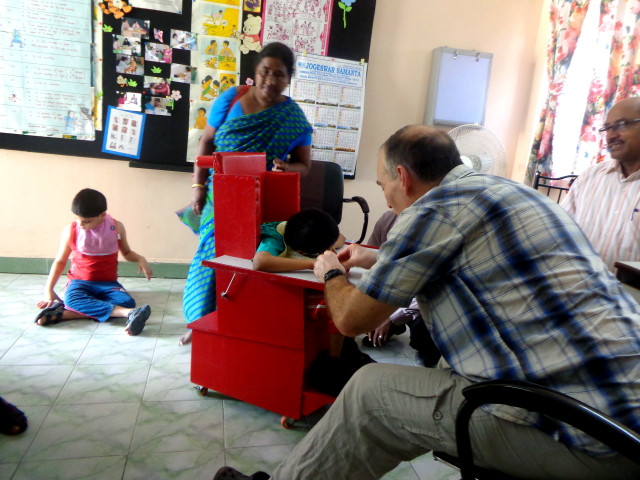 Dr. Andrew Curran on his second visit to Jan Seva
