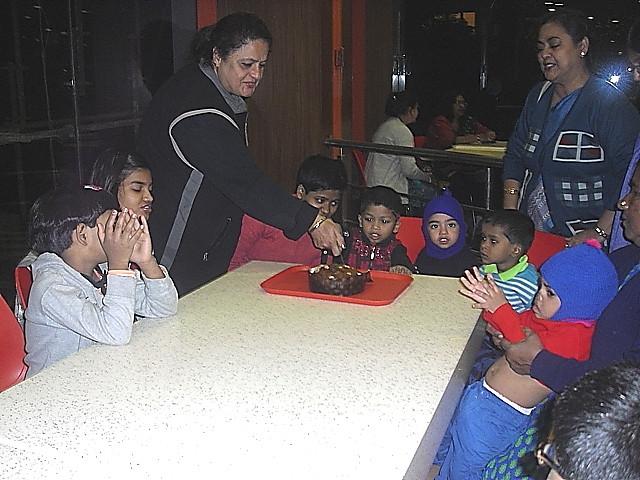 Babu's 5th Birthday Celebration at Haldiram's