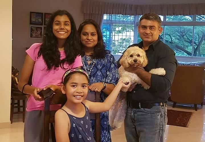 Kaushikee, Ajay, Trisha, Maya and Scribbles