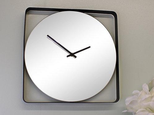 Mirrored Wall Clock