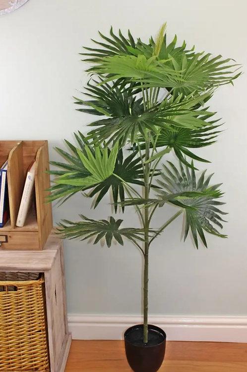 Artificial 140cm Fan Palm Plant