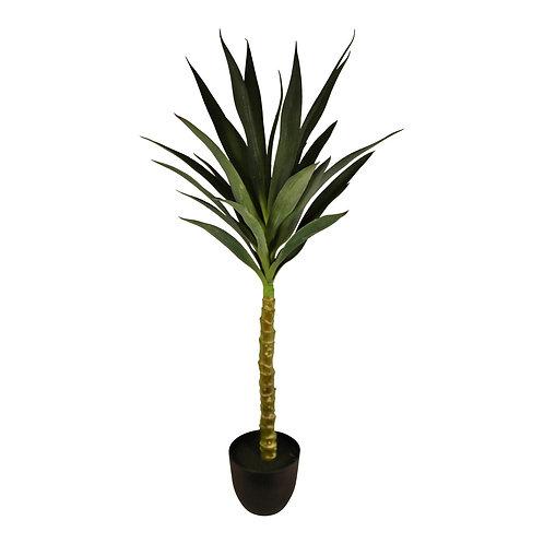 Artificial 100cm Single Stem Yucca Plant