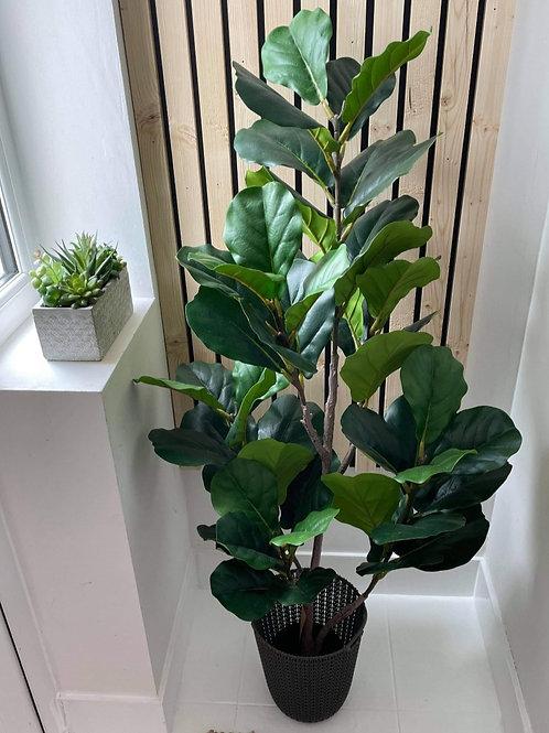 Artificial 130cm Fiddle Fig Leaf Plant
