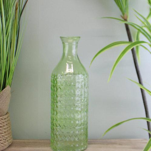 Large Light Green Bottle Vase
