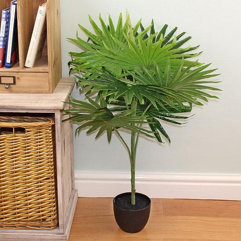 Artificial 80cm Fan Palm