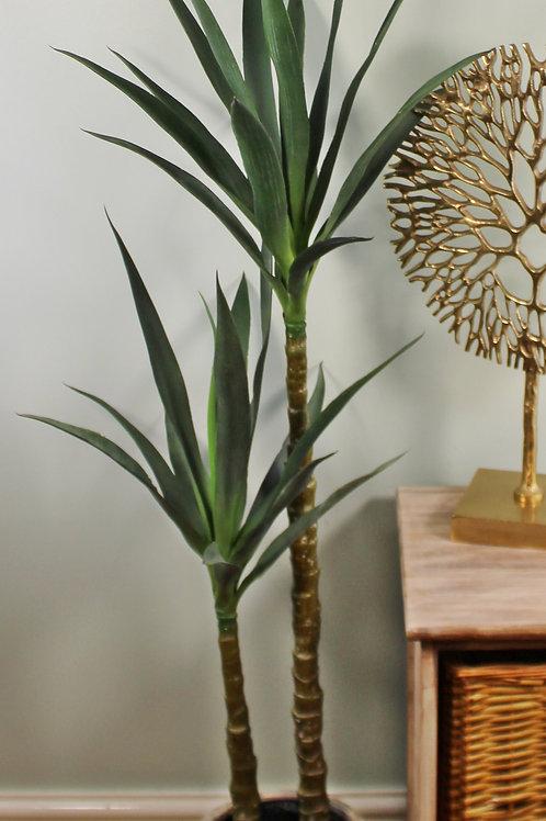 Artificial Double Stem Yucca Plant 120cm