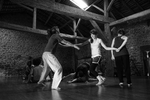 Larret à venir - chantier & danse