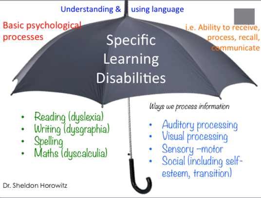 Specific Learning Disabilites