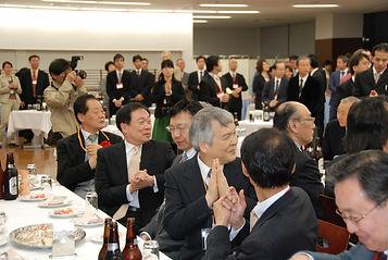 第33回 経絡治療学会学術大会 東京大会。懇親会2。