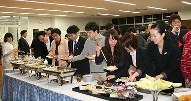 第33回 経絡治療学会学術大会 東京大会。懇親会1。