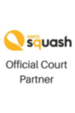Herts Official Court Partner logo