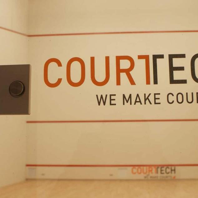 Looking through a CourtTech Door