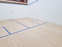 Refurbished Squash Court