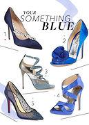 Shoes Something Blue