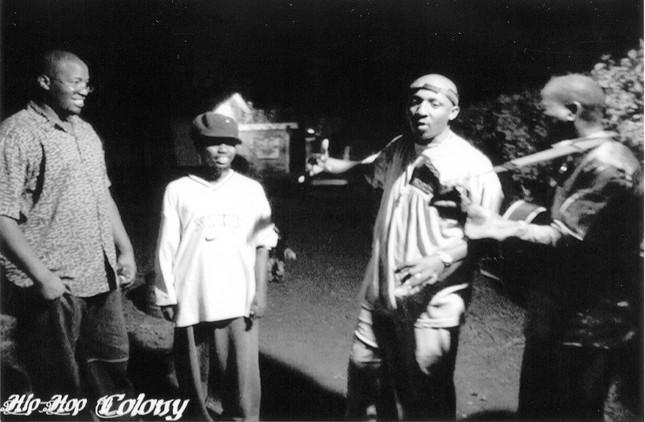 Big Mike, Kama, Bamboo and Harry K